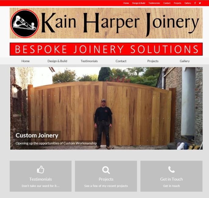 Kain Harper - Bespoke Joinery Solutions