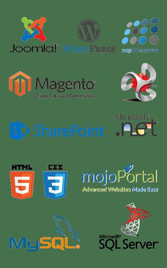 Web Technology Logos
