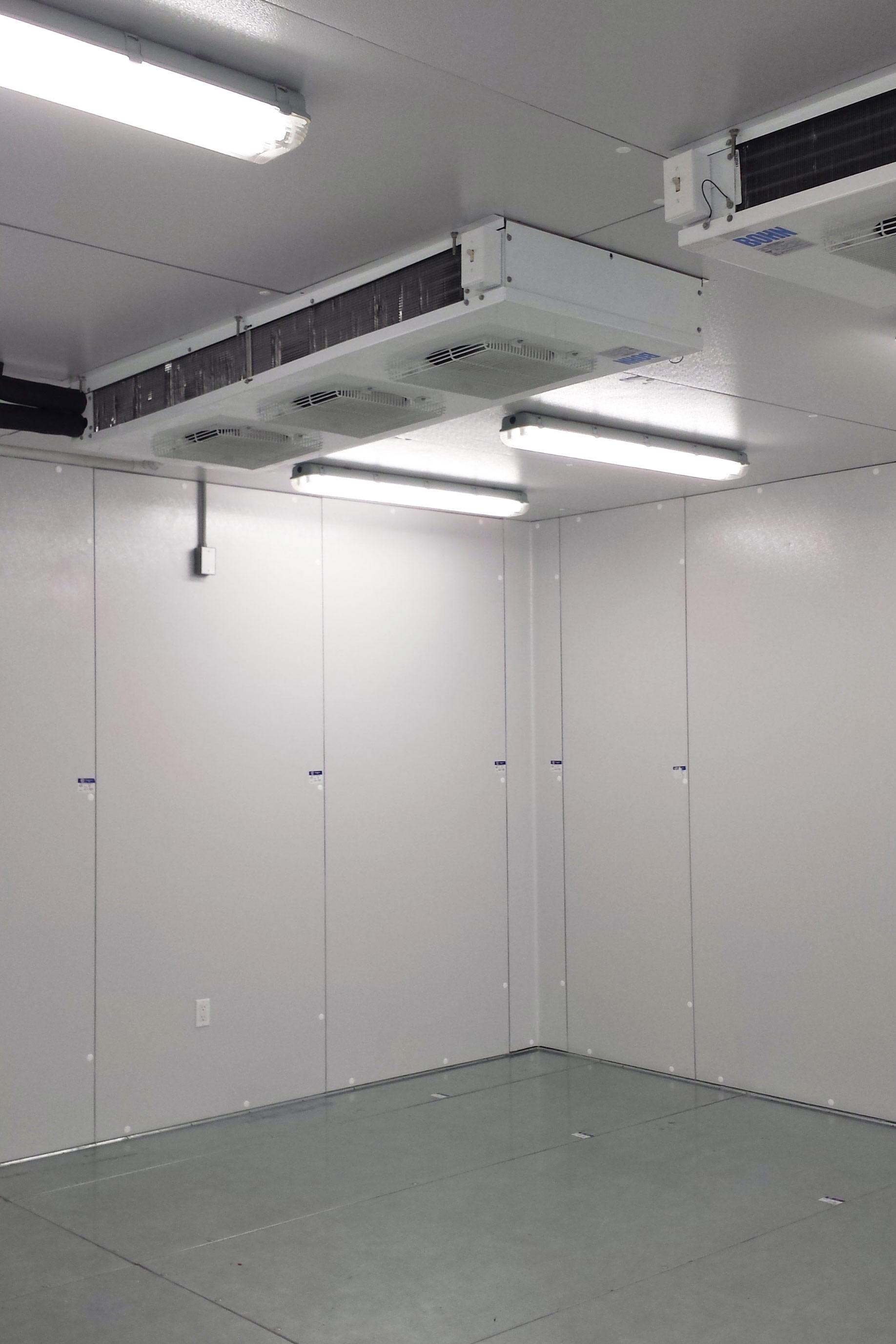 covid vaccine storage cold rooms
