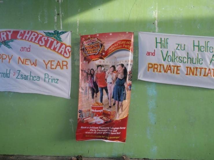 Hilf zu helfen - Kinderweihnachtsfeier