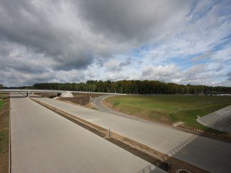 Autobahnbau in Polen; Foto: wikimedia.org, Silu