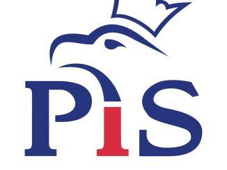 PiS Logo der Partei Recht und Gerechtigkeit