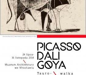 Ausstellung Tauromachia in Polen, Foto: Ausstellungsplakat
