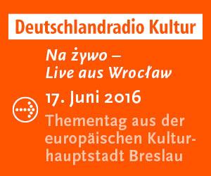 Deutschlandradio Kultur liev aus Breslau zum 25. Jahrestag des Nachbarschaftsvertrag