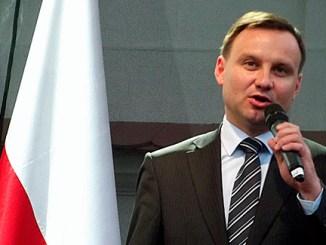 Polens Präsident Andrzej Duda, Foto: Piotr Drabik, CC-BY-2.0