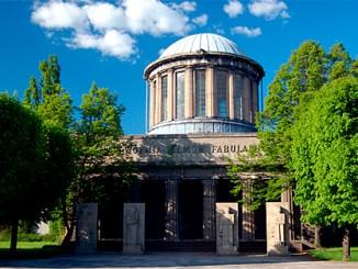 Vier-Kuppel-Pavillon in Breslau, Foto: (WT-shared) Mwacko at wts wikivoyage, CC BY-SA 1.0