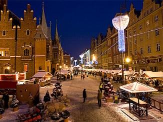 Polnische Weihnachtsmärkte, Weinachtsmarkt Breslau, Foto: (c) Krzysztof Szymoniak, Poln. Fremdenverkehrsamt