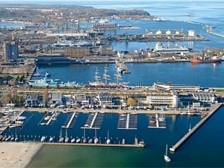 Hafen und Marina Gdynia, Foto. Joymaster, public domain