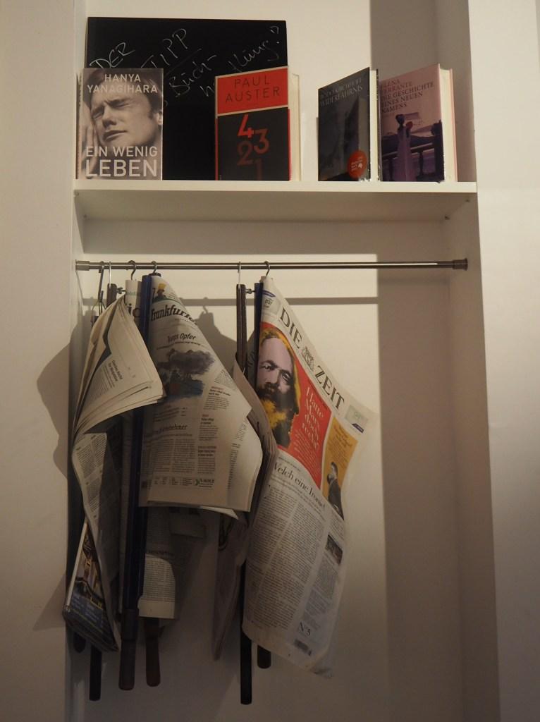 Lesecafé, Frankfurt, Das vierte Zimmer