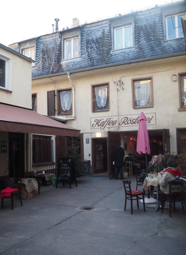 Kaffeerösterei Stern, Wissmüller Frankfurt, Das vierte Zimmer