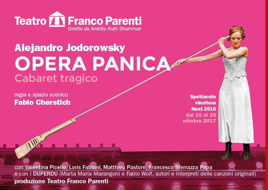 Opera Panica Cabaret Tragico di Alejandro Jodorowsky