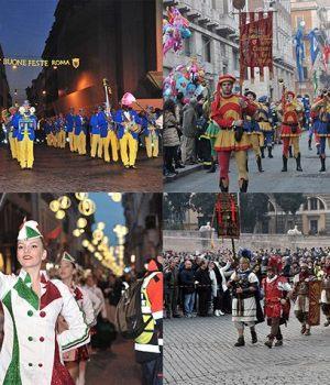 ROME NEW YEAR'S PARADE