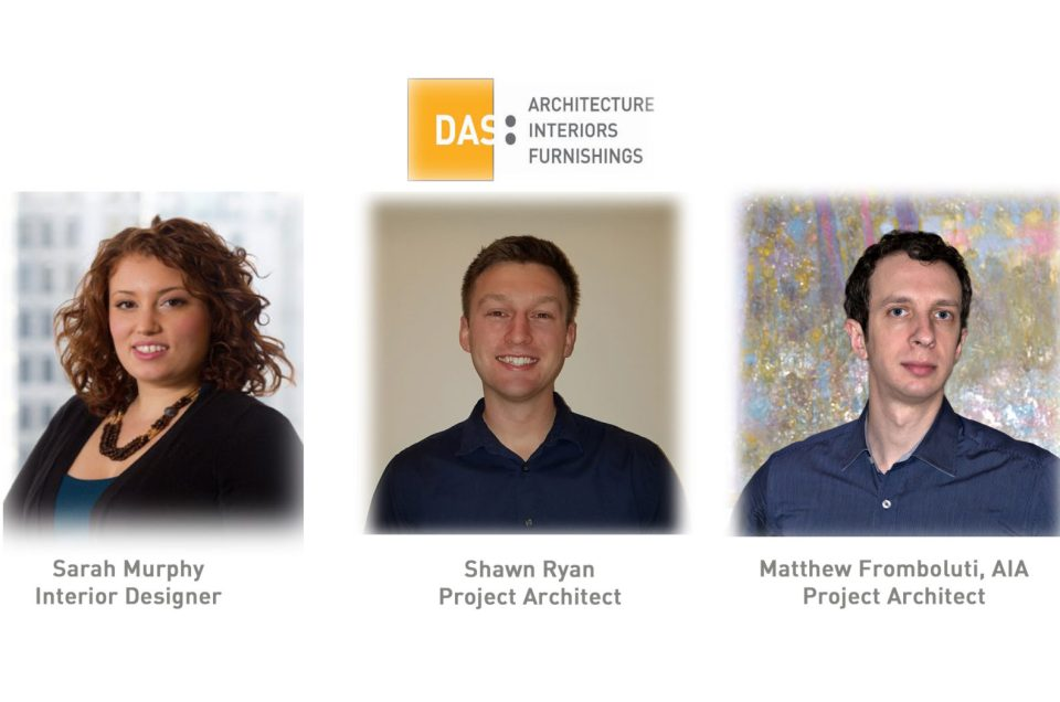DAS is growing again! We are pleased to welcome and introduce three new team members!