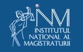 institutul national al magistraturii, inm