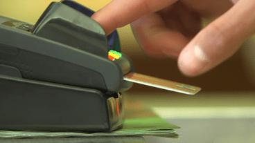 Zahlung am EC-Karten-Terminal