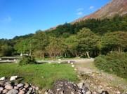 Wilder Campingplatz im GlenCoe