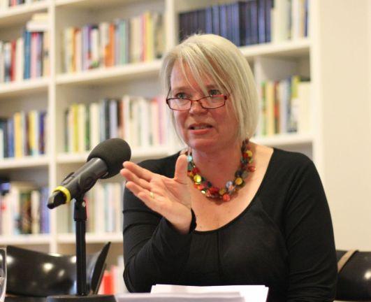 Sabine Zaplin. Foto: Jan-Eike Hornauer