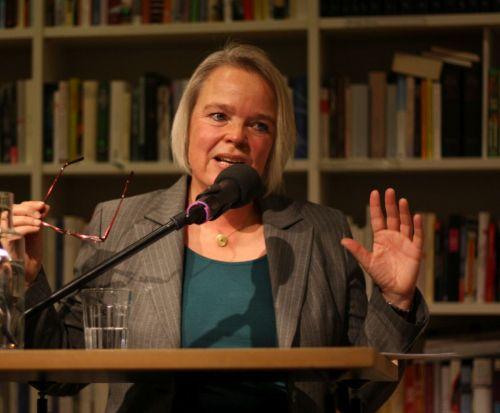 Moderierte die Buchpremiere von DAS GEDICHT 24 im Literaturhaus München: Sabine Zaplin
