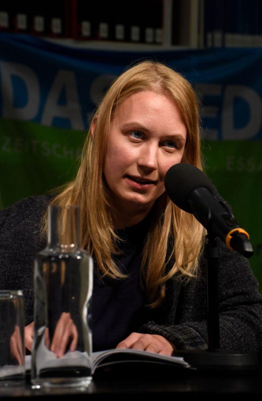 Elena Kaufmann. Foto: Volker Derlath