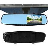 CrewPros(TM)4.3'' Car Rearview Mirror Camera 140 degree Video Recorder Car DVR HD Camcorder Dash Cam G-Senor hot