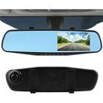 CrewPros(TM)4.3'' Car Rearview Mirror Camera 140 degree Video Recorder Car DVR HD Camcorder Dash Cam G-Senor hot
