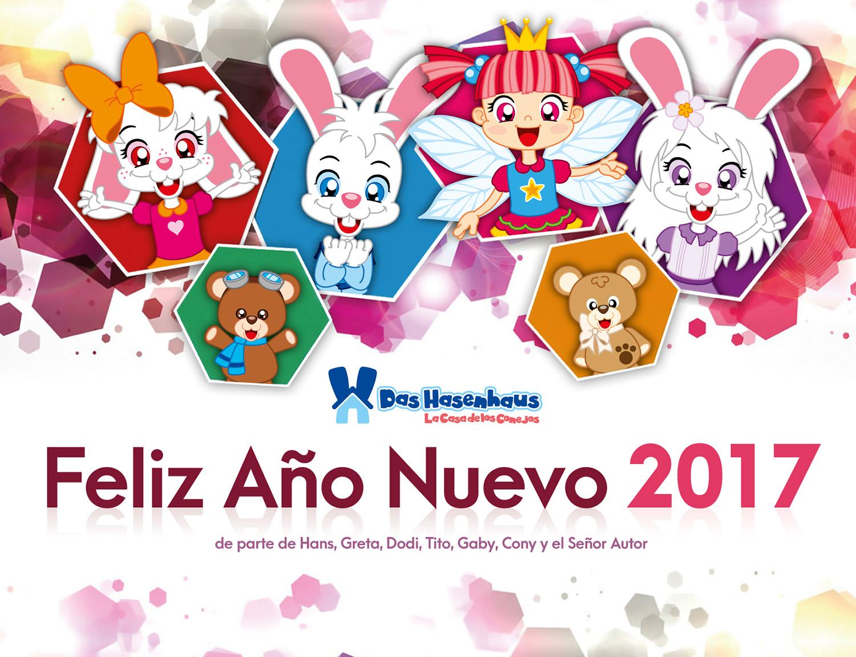 Feliz Año Nuevo 2017! – Das Hasenhaus – La Casa de los Conejos