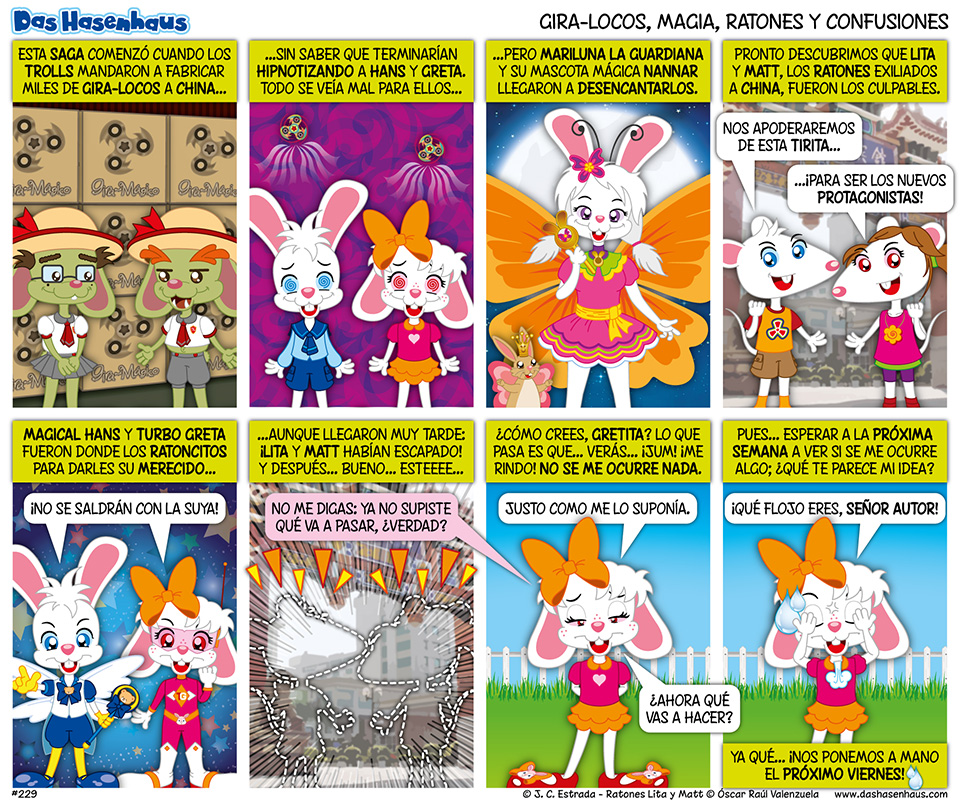 Gira-Locos, Magia, Ratones y Confusiones