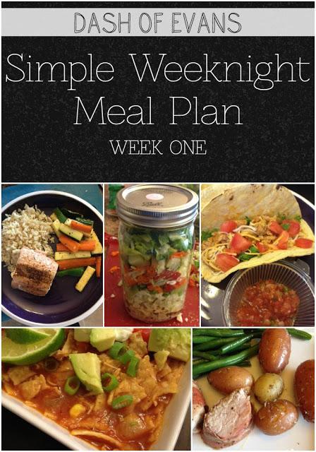 Meal Plan, Dash of Evans