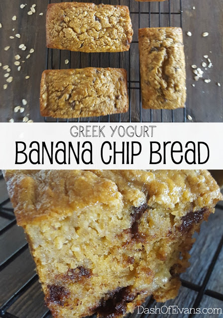 Banana Bread, Healthy Banana Bread, Greek Yogurt, Coconut Oil