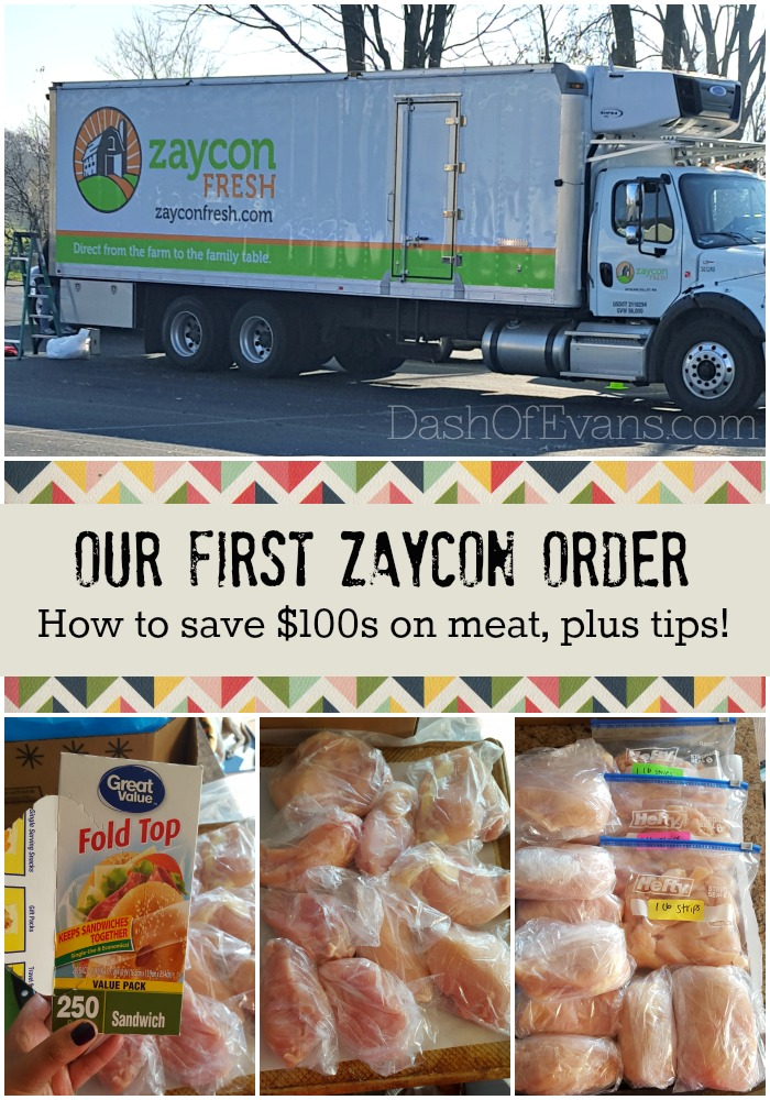 How to save $100s on meat with Zaycon Fresh! • @DashOfEvans