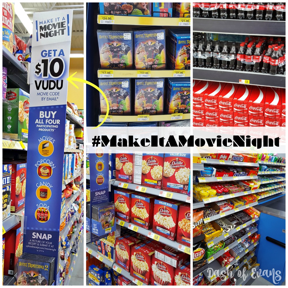 Head to @Walmart to find all of your favorites to #MakeItAMovieNight! For a limited time, when you purchase these 4 items, get a $10 Vudu movie code! (ad)
