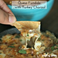 MYO Turkey Chorizo--1/3 of the fat, but all of the flavor! Use for breakfast burritos, eggs or my tasty queso fundido dip!