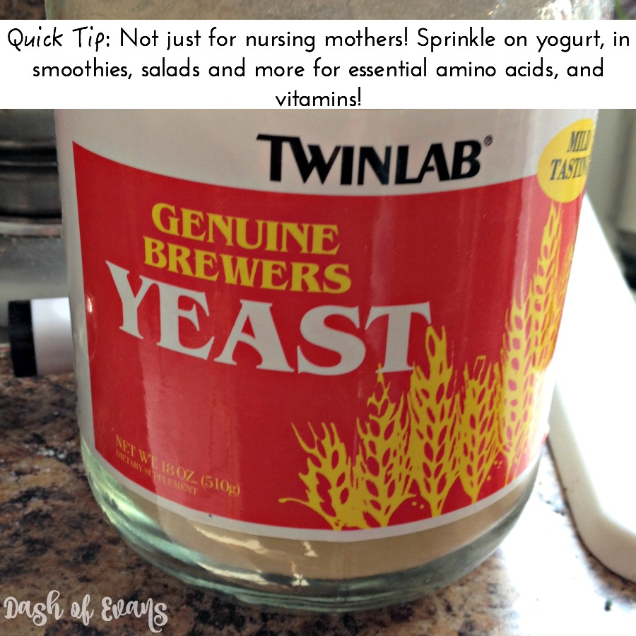 Brewer's Yeast is great for nursing mothers and anyone looking to add a healthy boost to their diet!