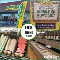 Fresh Thyme opens in Grand Rapids, MI! Check out my tips and what I loved about the store! - @DashOfEvans