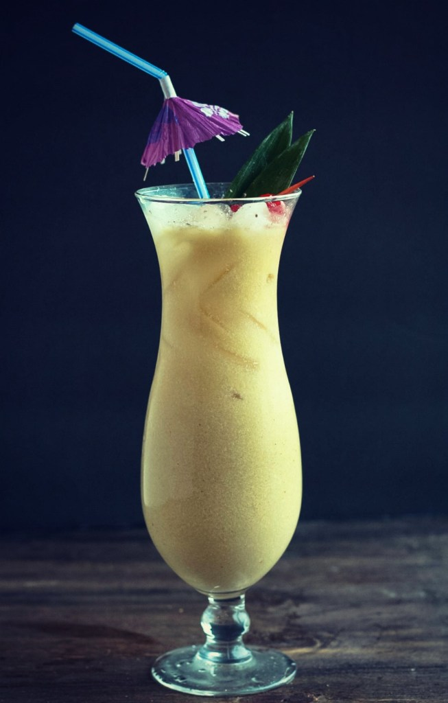 Pinapple & Rum Jamaican Painkiller using Chila Orchata! Make any day a vacay with this drink! YUM!