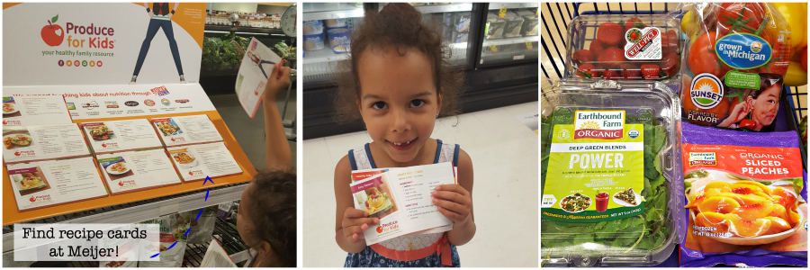 Look for Produce for Kids endorsed products at your local Meijer store! (ad)