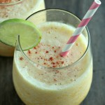 Spiced Frozen Pineapple Margarita