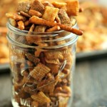 Perfect Road Trip Snack: Sriracha Chex Mix!