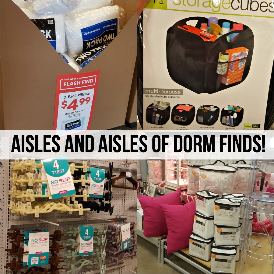 Visit your local At Home store for all of your dorm (or home!) shopping needs...all budget friendly! via @DashOfEvans