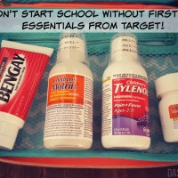 From First Aid Essentials to schedules, I have 5 AMAZING back-to-school tips for your elementary aged kiddos. You'll thank me later! | @DashOfEvans (ad) #PositivelyPrepared #BacktoSchool #CollectiveBias