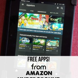 Amazon Underground: Actually FREE Apps!