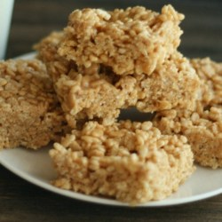 Pumpkin Spice PB Crispy Treats