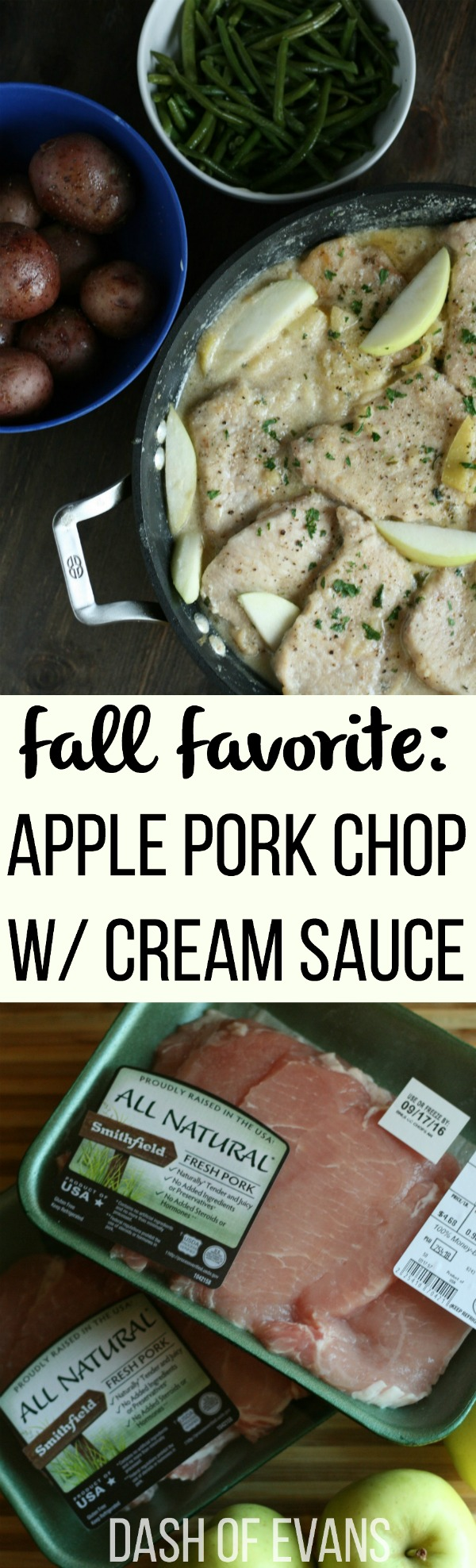 up your pork chops with these delicious Creamy Apple Cider chops ...