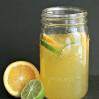 Using fresh citrus, making your own sour mix for cocktails is so simple! Perfect for margaritas, whiskey sours and more--a great gift idea, too! via @DashOfEvans