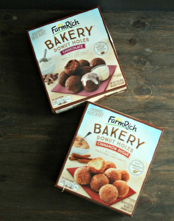 Bake up delicious treats whenever you want--great for both every day and special holidays! Farm Rich Bakery offers blueberry scones, donuts and more, all found in the freezer section! via @DashOfEvans