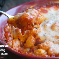Baked Gnocchi with Pomodoro Sauce