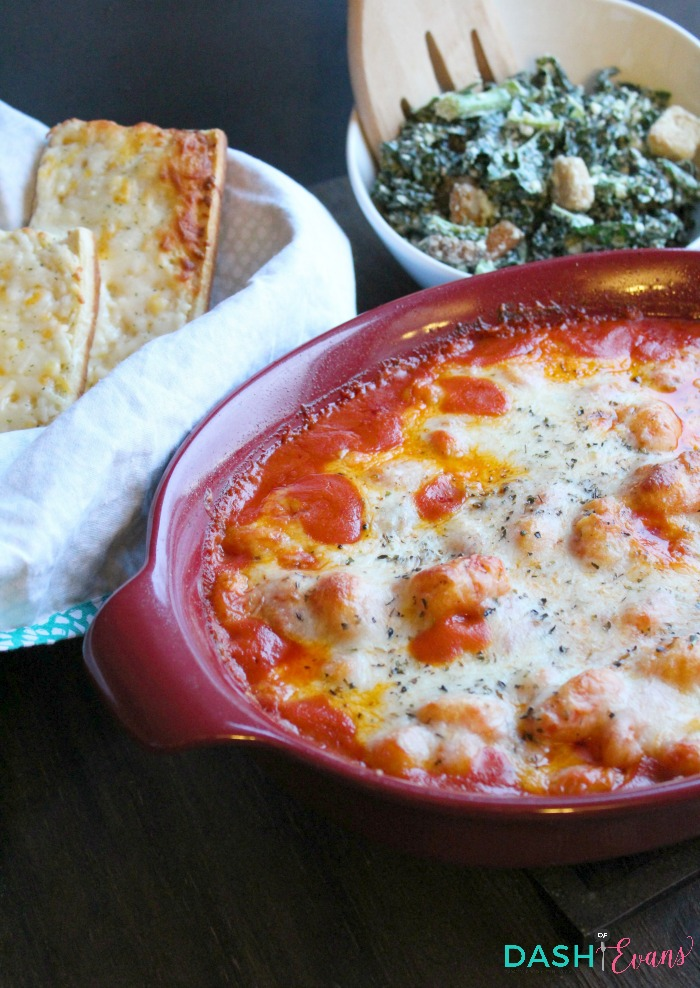 A new comfort food favorite: Baked Gnocchi with Pomodoro Sauce. via @DashOfEvans