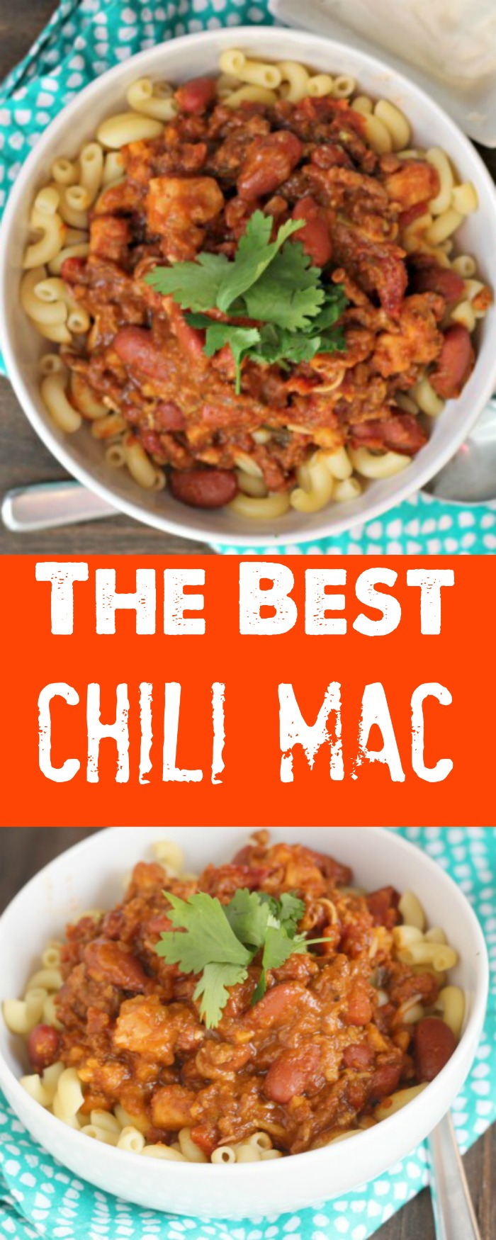 The ultimate Game Day Chili Mac featuring Randall Beans! YUM! via @DashOfEvans