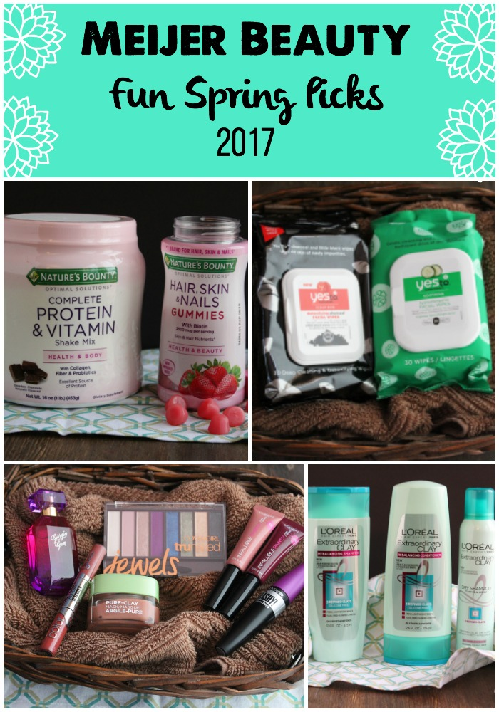 Fun new products available at Meijer just in time for Spring 2017! via @DashOfEvans