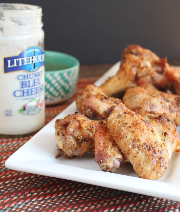 Crispy Baked Chicken Wings + a Giveaway!